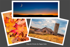 Fine Art Prints On Paper Only