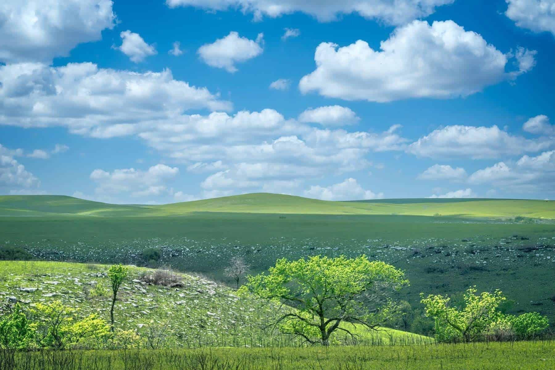 Kansas, Flint Hills, Tallgrass Prairie