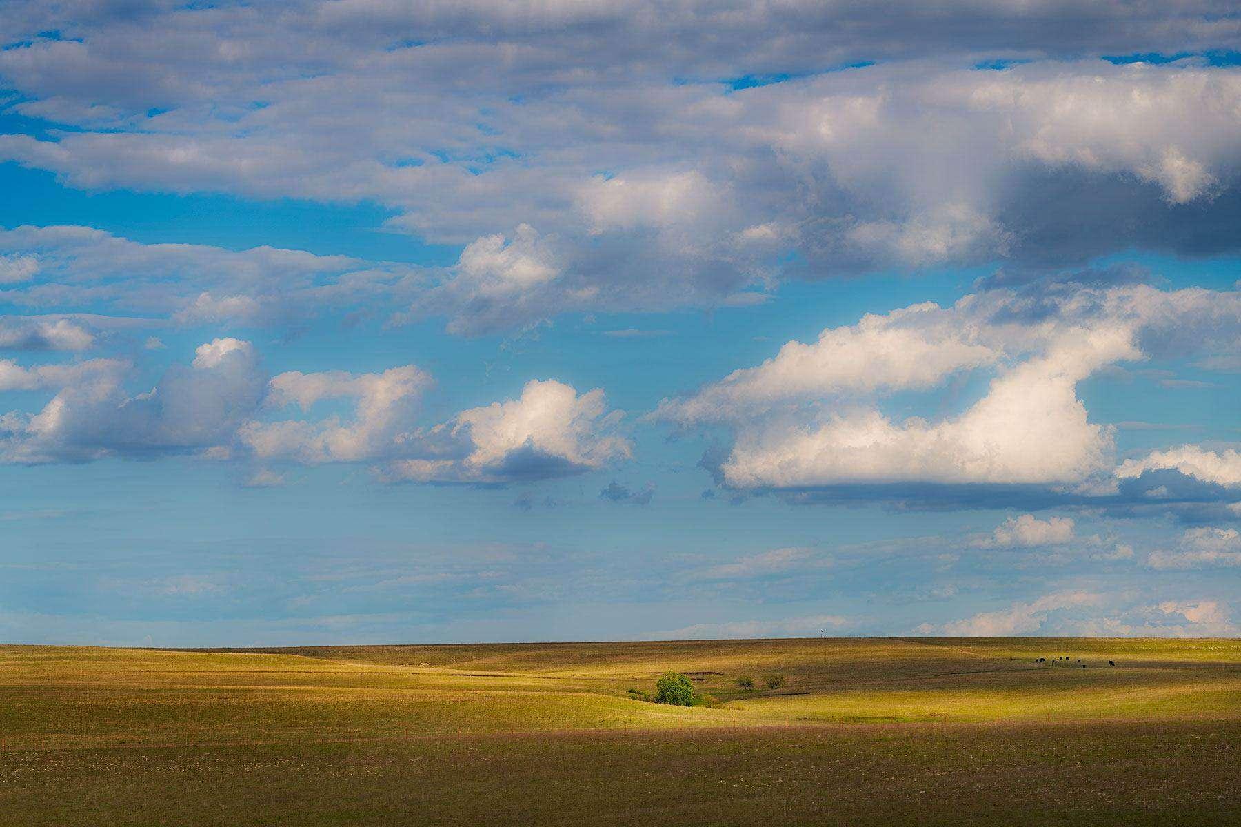 Kansas tallgrass prairie landscape photography